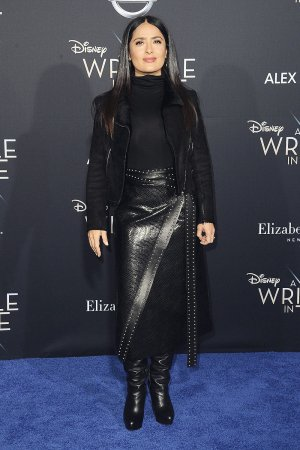 Salma Hayek attends A Wrinkle in Time Premiere