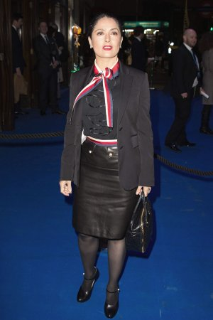 Salma Hayek attends An American in Paris Press Night
