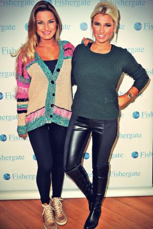 Sam & Billie Faiers at Minnies Boutique pop up shop opening