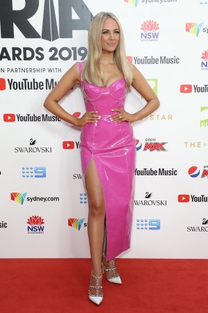 Samantha Jade attends 33rd Annual ARIA Awards