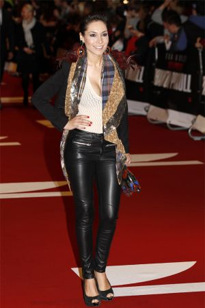 Sandra Ahrabian at Mission Impossible premiere