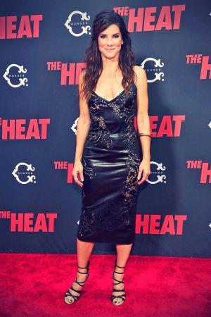 Sandra Bullock attends The Heat New York Premiere