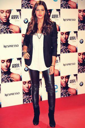 Sara Carbonero attends Alicia Keys concert photocall