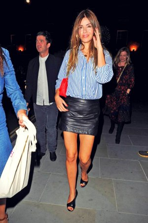 Sara Macdonald enjoy a night out at Chiltern Firehouse