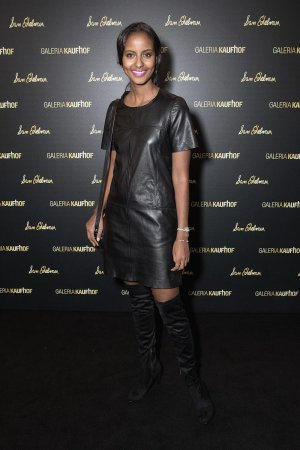 Sara Nuru attends the opening of the Dream Concept floor