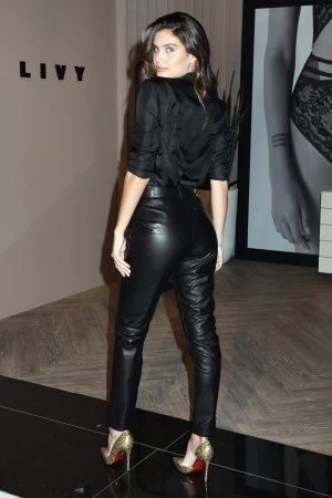 Sara Sampaio attends LIVY lingerie celebration at Victoria's Secret