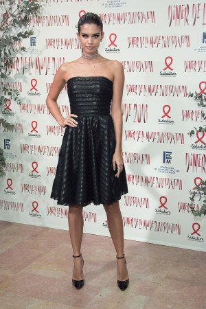 Sara Sampaio attends Sidaction Gala Dinner