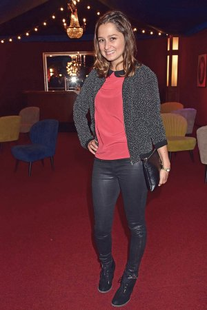 Sarah Alles attends the Deutscher Musical Theater Preis