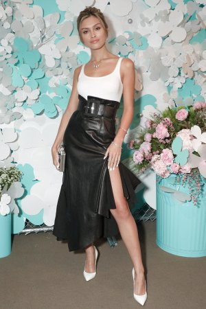 Sarah Ellen attends Tiffany & Co. jewelry collection launch