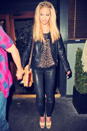 Sarah Harding Leaving Groucho Club
