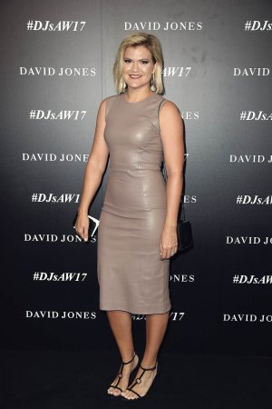 Sarah Harris arrives ahead of the David Jones Autumn Winter 2017 Collections Launch