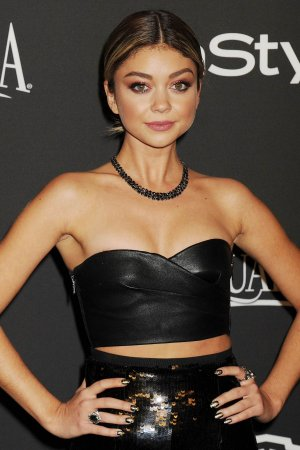 Sarah Hyland attends Golden Globes Party