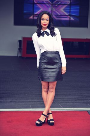 Sarah-Jane Crawford at X Factor auditions