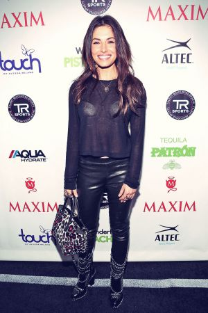 Sarah Shahi attends MAXIM Magazine's Big Game Weekend