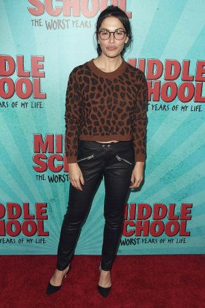 Sarah Shahi attends Middle School The Worst Years Of My Life Premiere