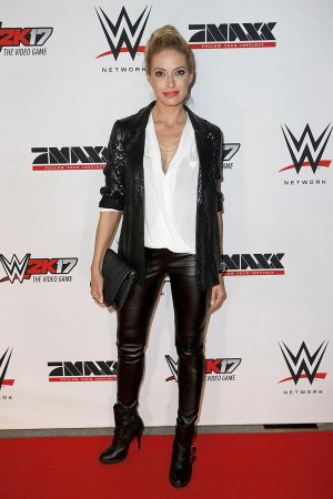 Sarah Winkhaus attends Tim Wiese's first WWE fight