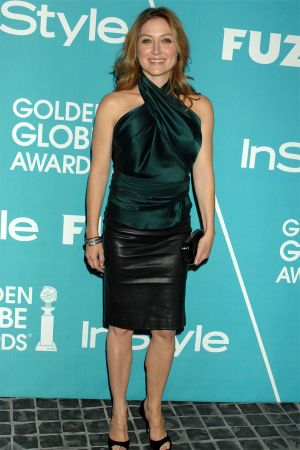Sasha Alexander at HFPA and InStyle Present A Night of Firsts