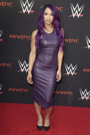 Sasha Banks attends WWE FYC Event