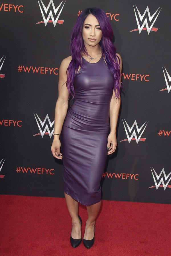 Sasha Banks attends WWE FYC Event