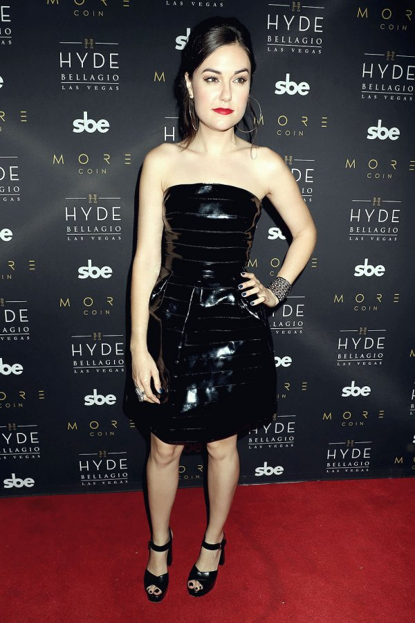 Sasha Grey attends Stereo Hyde With Electrifying DJ Set