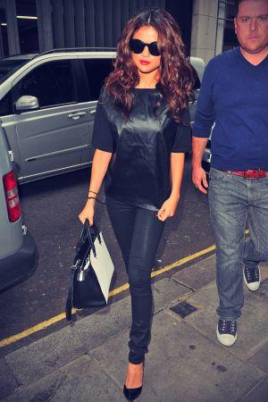 Selena Gomez at Kiss FM in London