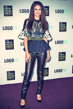 Selena Gomez attends 2013 Logo NewNowNext Awards