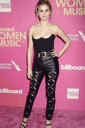 Selena Gomez attends the 2017 Billboard Women in Music Event