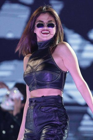 Selena Gomez performs at Revival Tour