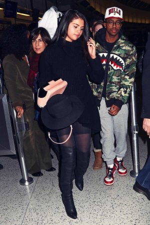 Selena Gomez seen at JFK airport