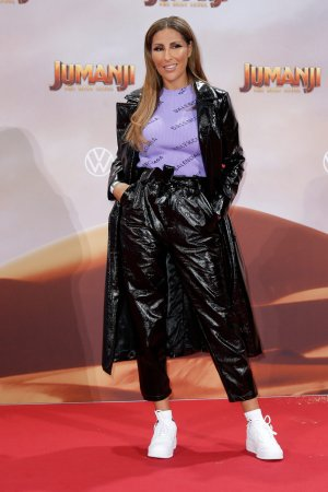 Senna Gammour attends Premiere von JUMANJI: THE NEXT LEVEL