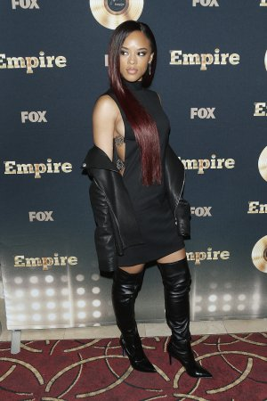 Serayah attends the Spring Premiere Of FOX's 'Empire'