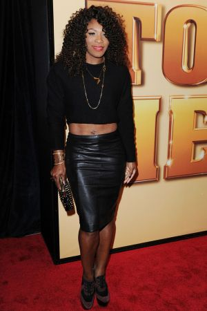 Serena Williams at Tower Heist World Premiere in NY