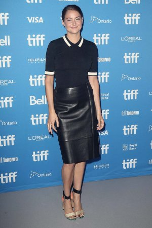 Shailene Woodley attends the 2016 TIFF Snowden press conference