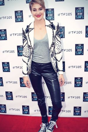 Shailene Woodley attends The Fault In Our Stars Fan Event