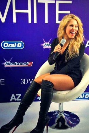 Shakira attends European Launch of Oral-B 3D White Whitestrips