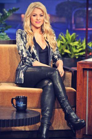 Shakira on the Tonight Show with Jay Leno