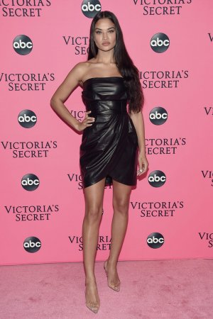 Shanina Shaik attends 2018 Victoria's Secret Viewing Party