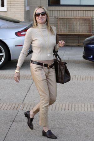 Sharon Stone seen shopping at Barney's NewYork