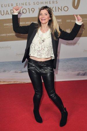 Sharon von Wietersheim attends Premiere des Films Immenhof