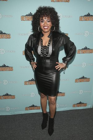 Shawntay Dalon attends Comedy Central's 'Detroiters' Premiere Party