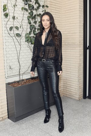 Shay Mitchell attends Celebration of Byredo's Capsule Collection Elevator Music