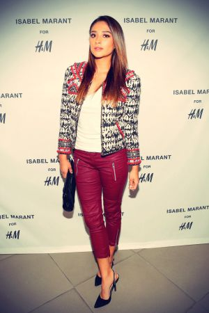 Shay Mitchell attends H&M Isabel Marant VIP Pre Shop Event