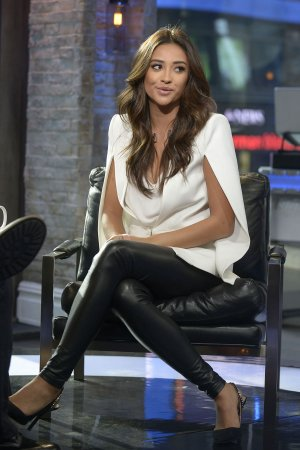 Shay Mitchell attends VH1 Big Morning Buzz