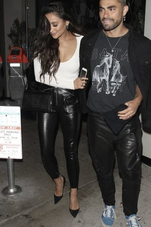 Shay Mitchell goes to Catch restaurant