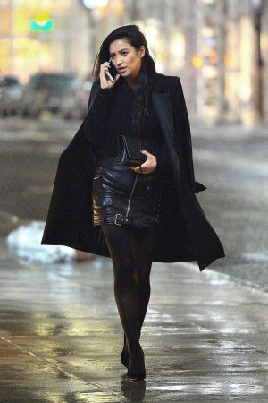 Shay Mitchell night out in NYC