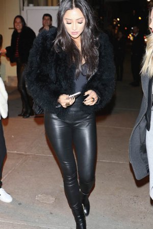 Shay Mitchell out for dinner in NYC