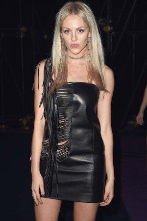Shea Marie attends Versace show