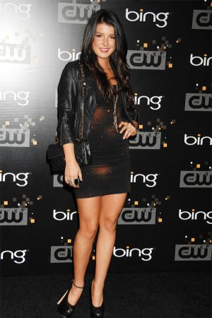 Shenae Grimes at launch party for the CW's 2011/2012 Season