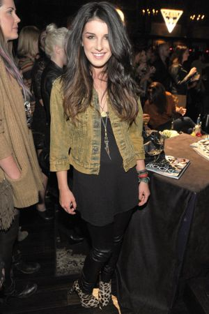 Shenae Grimes at The Sayers Club in Hollywood