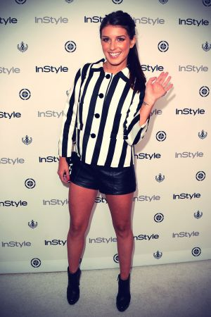 Shenae Grimes attends InStyle Summer Soiree